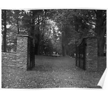Cemetery Gate Poster
