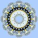Formation Fractal Kaleidoscope by Hugh Fathers