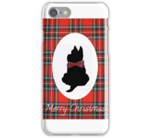 Christmas card iPhone Case/Skin