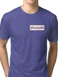 Carmenjello shirt – The League Tri-blend T-Shirt