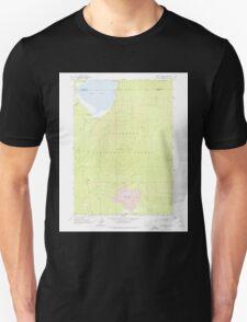 USGS Topo Map Oregon Hamner Butte 280135 1963 24000 Unisex T-Shirt
