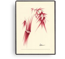 """Delicate"" - Original Huntington Gardens Plein Air Drawing Canvas Print"