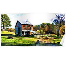 Price's Mill - Upstate South Carolina Poster
