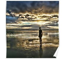 Crosby Beach - Another Place Poster