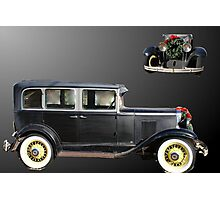 Chevrolet for christmas Photographic Print