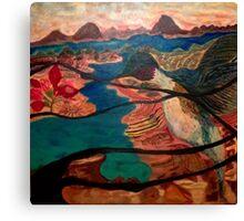 bel oiseau Canvas Print