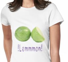 lemon delicious Womens Fitted T-Shirt