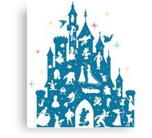 Most Magical Castle Canvas Print