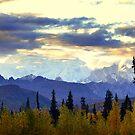 Mt. Mckinley at Sundown ~ Alaska by lanebrain photography