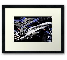 Portrait of Fun Framed Print