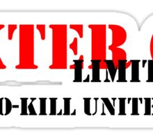 NO-KILL UNITED : DCL-RB Sticker