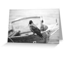 Cheeky Bird Greeting Card
