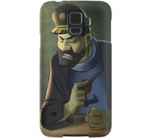 Captain Haddock, Tintin adventures Samsung Galaxy Case/Skin