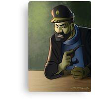 Captain Haddock, Tintin adventures Canvas Print