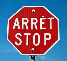 Stop sign. by FER737NG