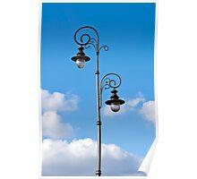 Street lamp. Poster
