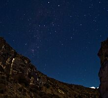 Southern Cross over Cave Stream by Paul Mercer