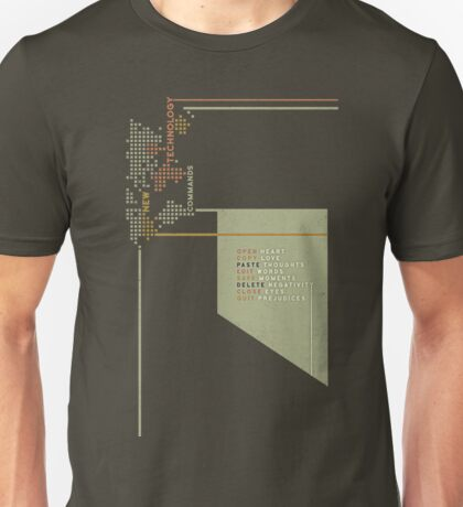 New Technology Commands Unisex T-Shirt