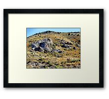 There's Gold in Them Thar' Hills Framed Print
