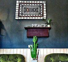 """""""Peace"""" - Urban Coffee, Busselton by Jo Bevis"""