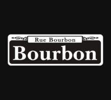 Bourbon St., New Orleans Street Sign Kids Tee