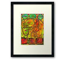 Spiritual Pipelines Framed Print
