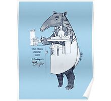 Tea time starts now - Malayan Tapir Poster