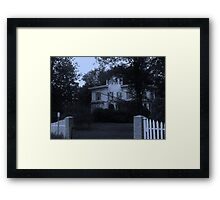 Oh That Old Place Framed Print