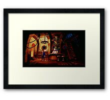 The barkeeper of Scabb Island Framed Print