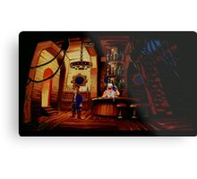 The barkeeper of Scabb Island Metal Print