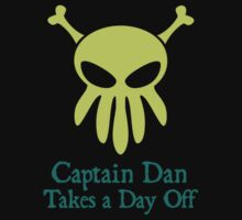 Capt. Dan Takes a Day Off by monkeyminion