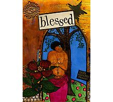 Blessed With Child Photographic Print