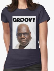 Carl Cox - Groovy Print Womens Fitted T-Shirt