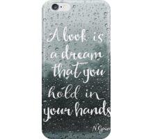 Neil Gaiman quote iPhone Case/Skin