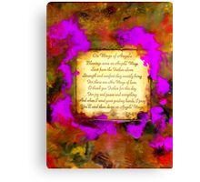 Wings of Angels Canvas Print