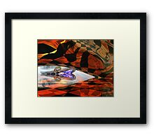 Two Beans Framed Print