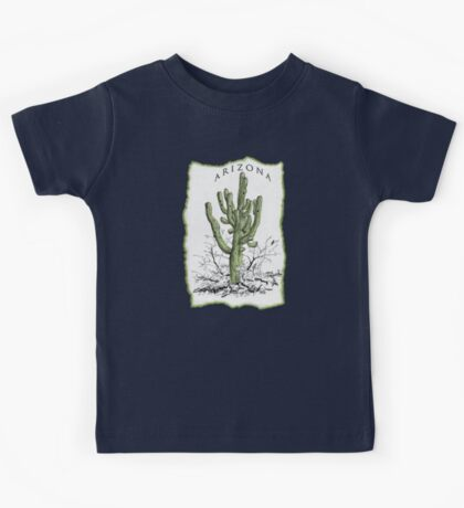 A Giant Saguaro Cactus of Southern Arizona * Kids Tee