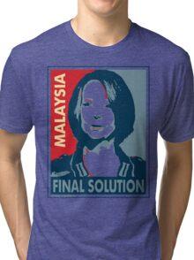 Julia - Final Solution, Cream Tri-blend T-Shirt