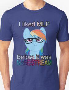 Hipster Dash Manestream T-Shirt