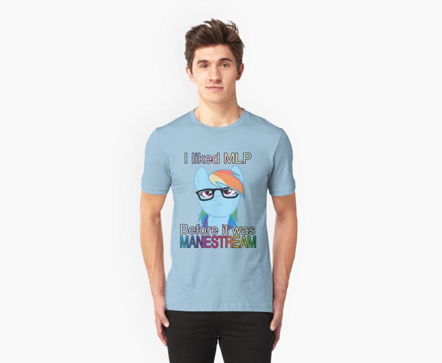 Hipster Dash Manestream by Fluttershy
