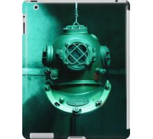 Diving helmet iPad Case/Skin