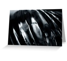 Silver Wave Greeting Card