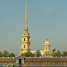 The Peter and Paul Fortress by mski