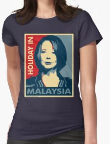 Julia - Holiday In Malaysia Womens Fitted T-Shirt