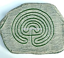 Celtic Labyrinth by Stuart  Fellowes