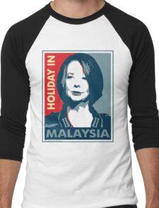 Julia - Holiday In Malaysia, Cream Men's Baseball ¾ T-Shirt