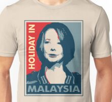 Julia - Holiday In Malaysia, Cream Unisex T-Shirt