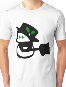 cute snowman holidays vector art Unisex T-Shirt