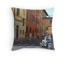 Essence of Italy Throw Pillow