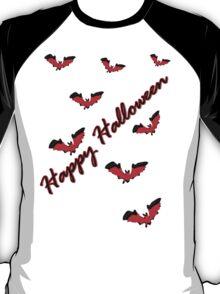Happy Halloween bats vector art T-Shirt